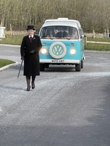 Cost of a funeral, Karen and a VW Campervan
